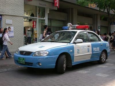 韓国パトカー2003