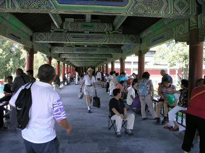 天壇公園長廊1