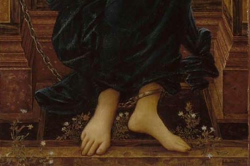 「Hope」1896年 Sir Edward Coley Burne-Jones Museum of Fine Arts, Boston
