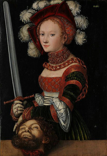 Judith with the Head of Holofernes, ca. 1530