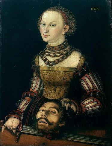 Lucas Cranach the Elder? Judith with the Head of Holofernes