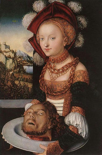 Salome by Lucas Cranach the Elder, 1530