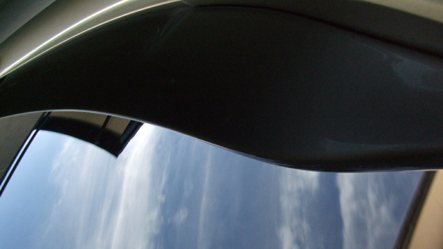 セルボリアガラス洗車後