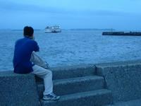 東京湾フェリーを撮る