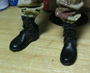 ブーツの完成