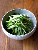 きゅうり葱ナムル