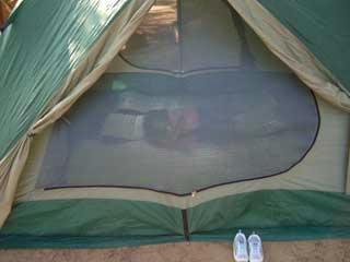 テントとムスメ。