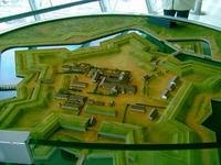五稜郭の模型