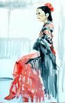 フラメンコの衣裳