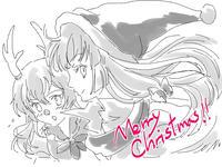 クリスマス妹紅&慧音