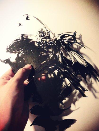 切り絵FF6ティナ魔導アーマー