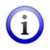 GIMPを使ってインフォメーション・アイコンを作る方法