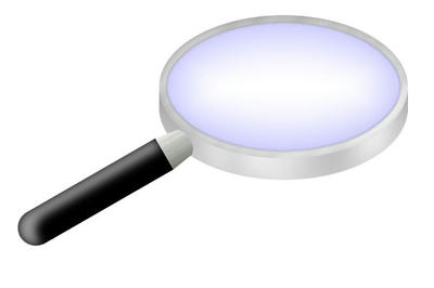 GIMPで描いた虫メガネ