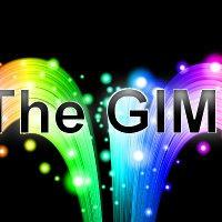 【GIMP】下から飛び出す感じの虹色のテキスト