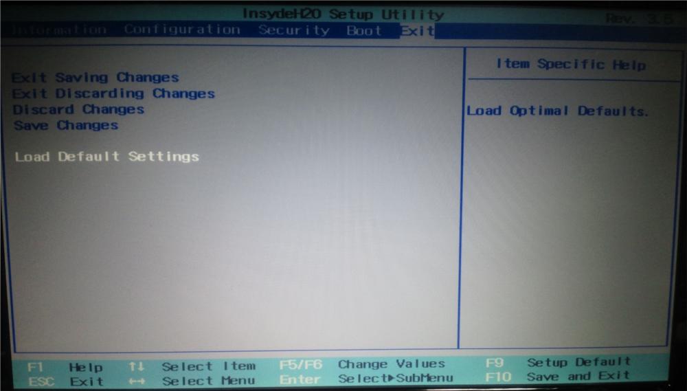 Lenovo G560 BIOS 更新 process 手順