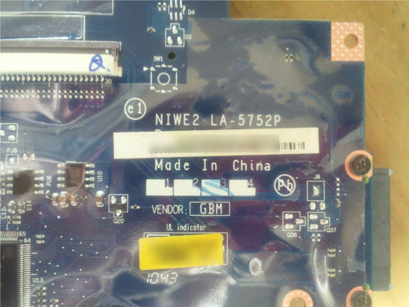 g560 mini pci express mother