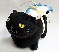 マグロお弁当ネコ黒