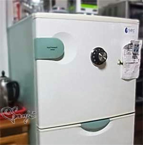 冷蔵庫にSAFE TIMER