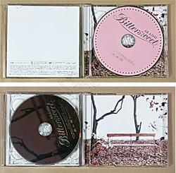 嵐 Bittersweet 初回限定盤のCDケースを開いたところ