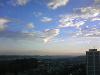 空とぼくの町