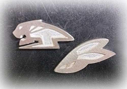 【タイバニ】 虎と兎ロゴでタイピン作るよ! 【まだ途中その3】
