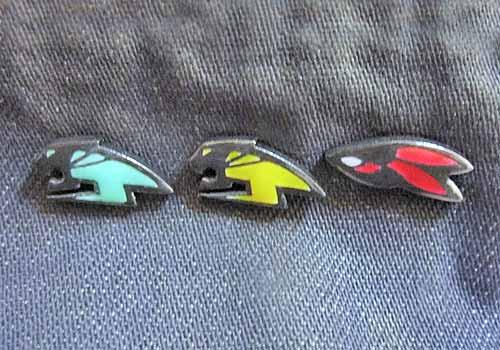 【タイバニ】 虎と兎ロゴでタイピン作るよ! 【色付き試作、信号機…?】