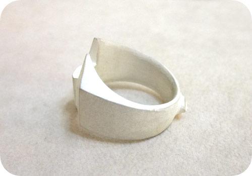 【タイバニ】 バーナビーの黒い指輪作るよ! 【斜め上から】
