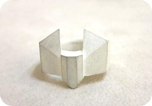 【タイバニ】 バーナビーの黒い指輪作るよ! 【銀でふきたて】