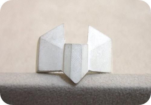 【タイバニ】 バーナビーの黒い指輪作るよ! 【正面】