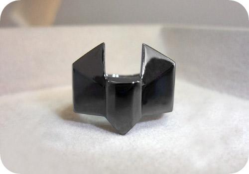 【タイバニ】 バーナビーの黒い指輪作るよ! 【完成その2】