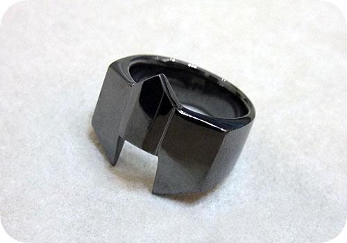 【タイバニ】 バーナビーの黒い指輪作るよ! 【完成その3】