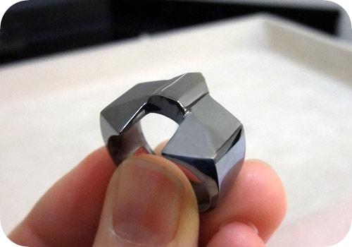 【タイバニ】 バーナビーの黒い指輪作るよ! 【完成その4】