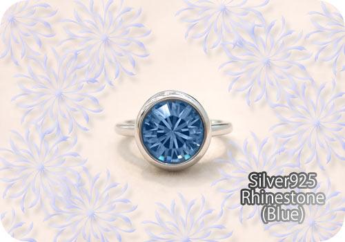 ぽってり♪青空カラー♪のリング!
