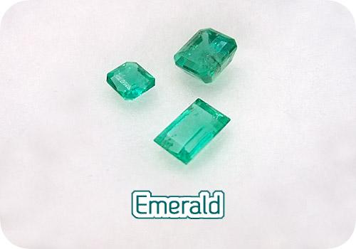 新緑の緑、エメラルド!