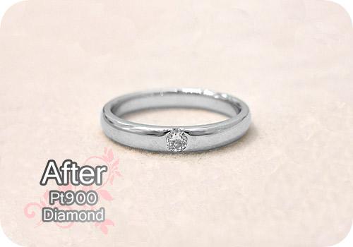 ダイヤリング【After】