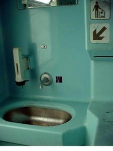 電車のトイレ