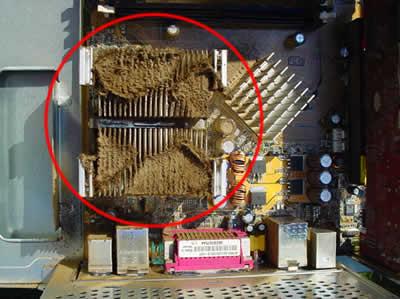 汚いコンピューター