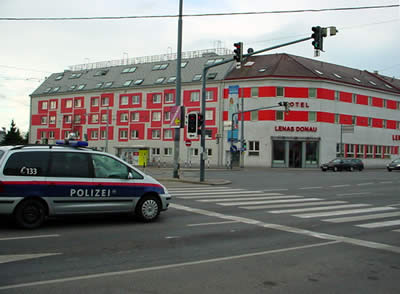 ウィーンのパトカー