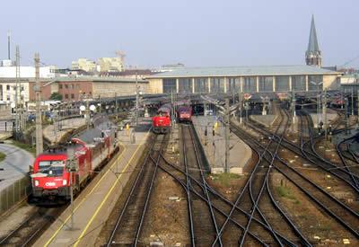 ウィーン西駅