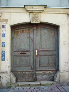 マイセン 家ドア