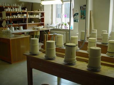 マイセン磁器製作過程