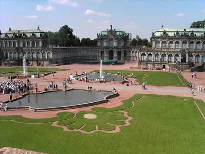 ドレスデン ツヴィンガー宮殿