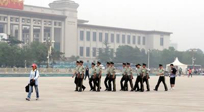 北京 天安門広場