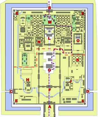 北京 紫禁城 地図