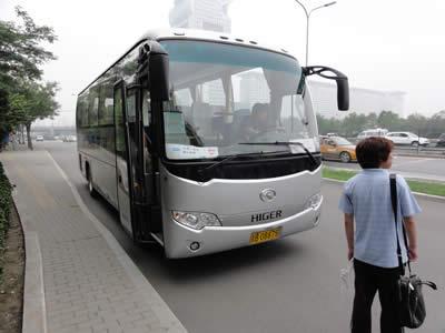 中国 ツアーバス