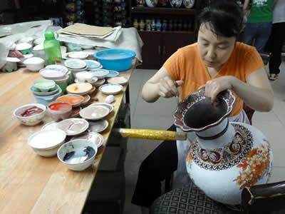 北京 七宝焼工房