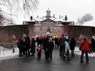 2010年 クリスマスマーケット入口