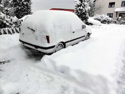 大雪1日後