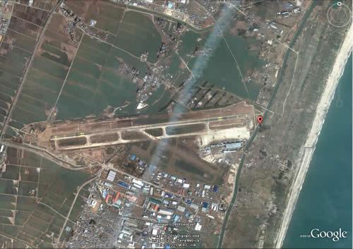 仙台空港 津波の後