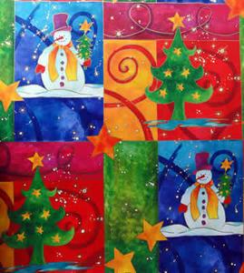 クリスマスの包装紙